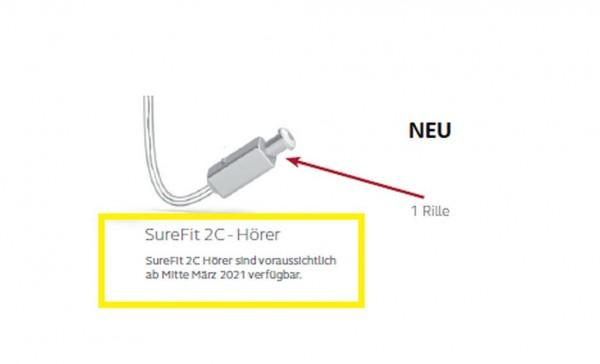 ReSound SureFit Hörer 2C