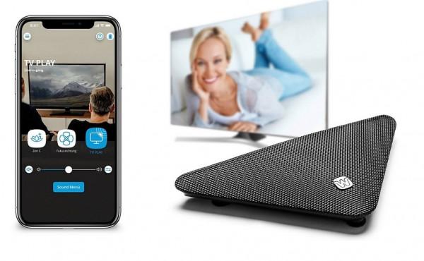 Widex TV PLAY Fernsehsender für Hörgeräte