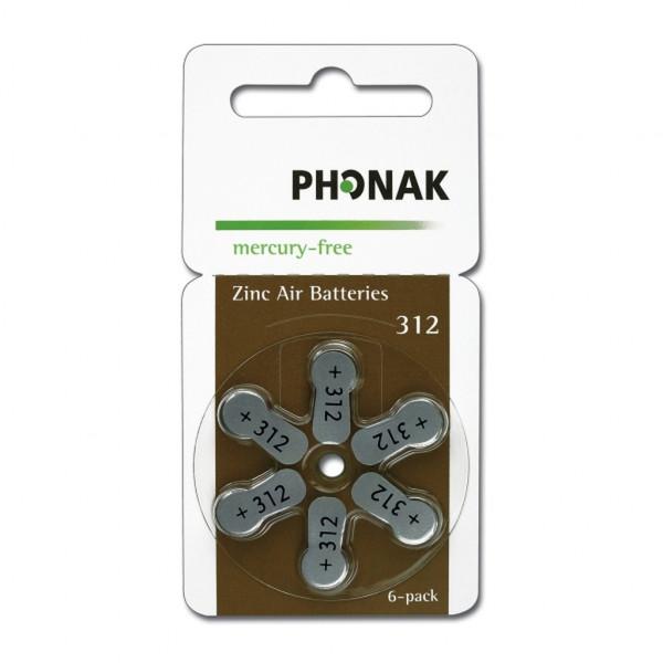Phonak Hörgerätebatterien 312