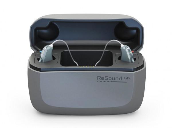 ReSound Ladestation für Hörgeräte mit Lithium-Ionen Akku